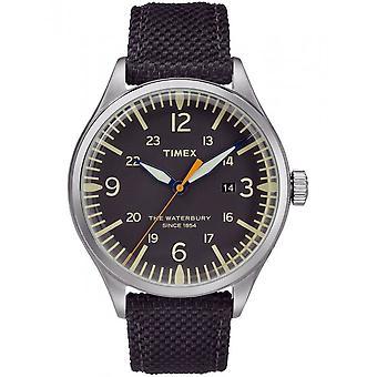 Timex мужские часы Уотербери традиционных 40 мм TW2R38500