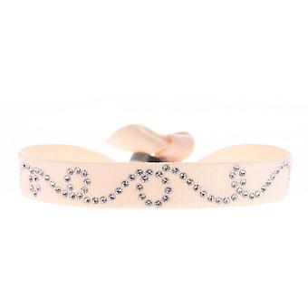 Armband verwisselbaar A37939 - weefsel vrouw Swarovski kristallen armband Rose