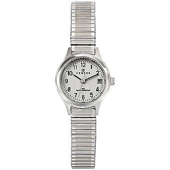 CerTus 621339 - reloj redondo blanco mujer