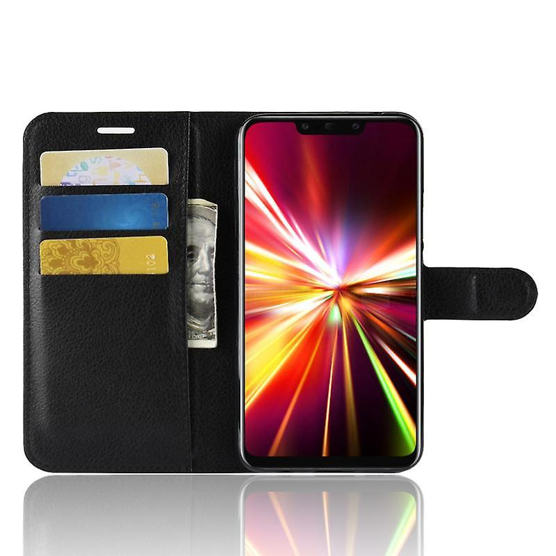 CaseGate phone case case for Huawei MATE 20 LITE case cover - with lock closure, stand function and card compartment