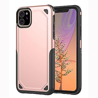 For iPhone 11 Case, Armour Shockproof Rugged Slim Protective Cover,Rose Gold