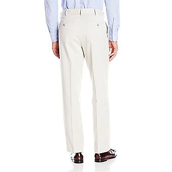 Dockers Men's Comfort Khaki Stretch Relaxed-Fit Flat-Front Pant, Porcelain Kh...