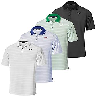 Mizuno Mens 2020 Quick Dry Boarder Wicking Short Sleeve Golf Polo Shirt