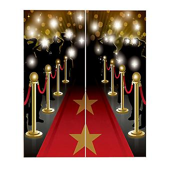 Amscan Hollywood Scene Setters Party Decoration Kit