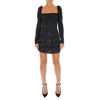 Amen Couture Acw19414009 Women-apos;s Black Sequins Dress