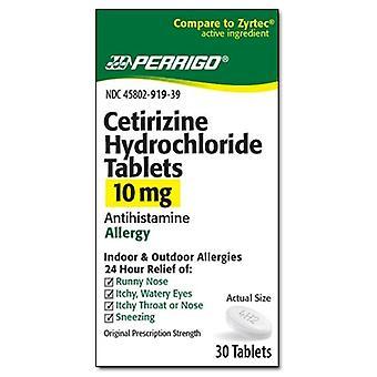 أقراص هيدروكلوريد السيتريزين بيريجو، 10 ملغ، عصام 30