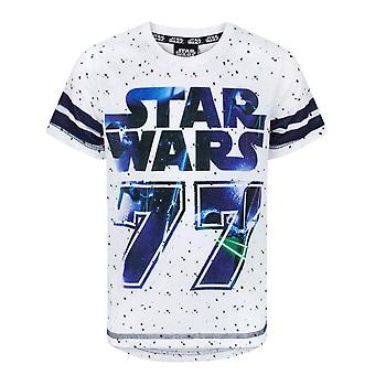 Star Wars 77 Boy's Baseball Short Sleeve T-Shirt