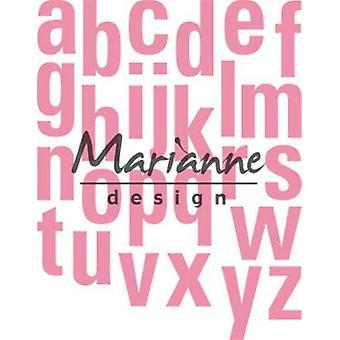 Marianne Design Collectables Cutting Dies - Alphabet XXL COL1449