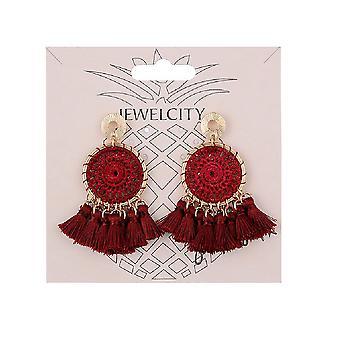 Jewelcity Sunkissed Womens/Ladies Dream Catcher Earrings