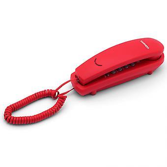 Téléphone fixe Daewoo DTC-115R LED Rouge