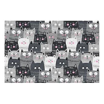Kids Rug - Cats - Washable - 115 x 175 cm
