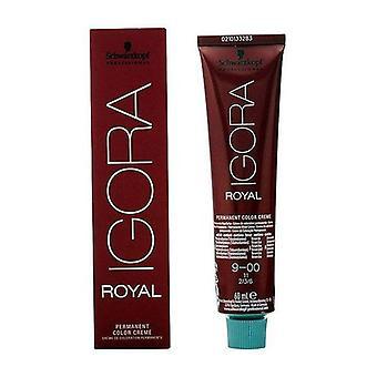 Permanent Dye Igora Royal Schwarzkopf Nº 9-00