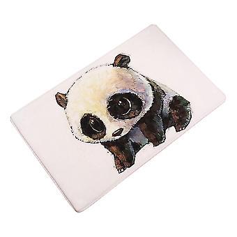 Flanell Panda Teppich