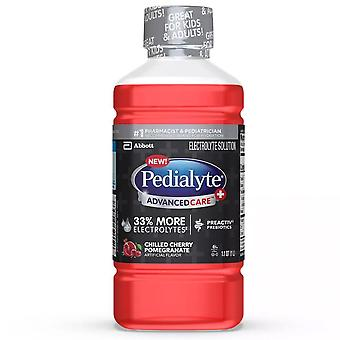 Pedialyte advancedcare electrolyte drink, chilled cherry pomegrante, 1 l
