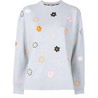 Kenzo Ezcr009005 Women's Grey Cotton Moletom