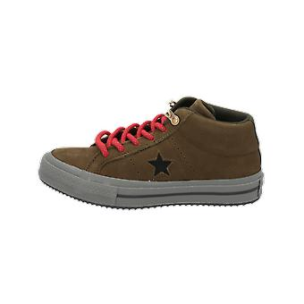 Converse ONE STAR MID COUNTER CLIMATE - Mid Femei's Sneakers Pantofi Sport Verde