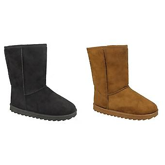بقعة على البنات منتصف الساق ابتزاز أحذية مبطنة
