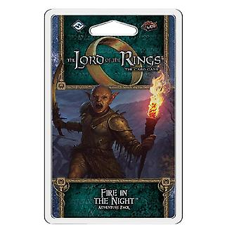 Fire in The Night Adventure Pack Lord of The Rings LCG Card Game