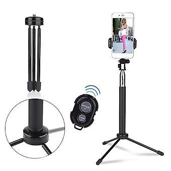 Bakeey bluetooth self-timer shutter selfie stick tripod for gopro sport camera cell phone