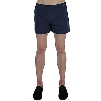 Dolce & gabbana blue cotton pajama shorts