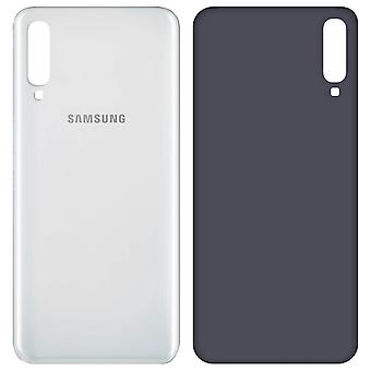 Housing part back cover, spare part for Samsung Galaxy A50 - White