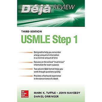 Deja Review USMLE Step 1 3e by Mark Tuttle - 9781260441642 Book