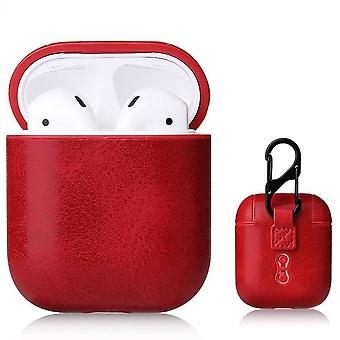 Leather Soft Skin Case For Apple Airpods 1 2 1st 2nd Gen Earphones PU Cover