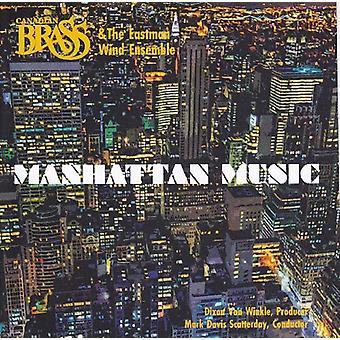 Canadian Brass - Manhattan Music [CD] USA import