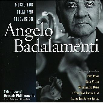 Angelo Badalamenti - Angelo Badalamenti: Music for Film and Television [CD] USA import