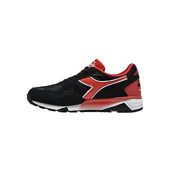 Diadora Black & Red N902 S Sneaker