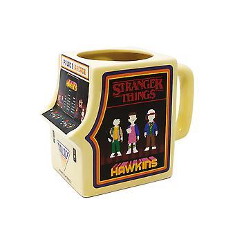 Official Stranger Things Palace Arcade Shaped Mug