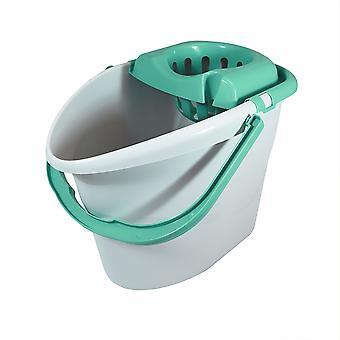 Charles Bentley 'Brights' Mint Green Mop & Bucket Set