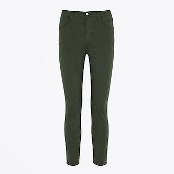 J Brand - Alana - High Rise Crop Skinny Jeans - Groen