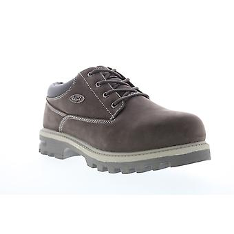 Lugz Empire LO Water-Resistant Mens Brown Extra Wide 3E Ankle Boots