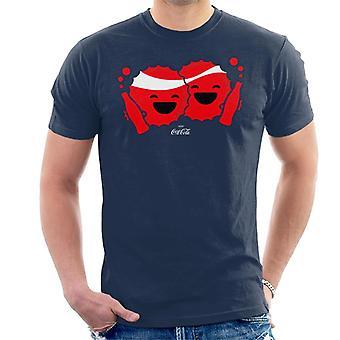 T-shirt de Coca Cola Emoji BFFs pour hommes