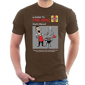 Haynes Guide til BBQ Chef Manual Menn & apos; s T-skjorte
