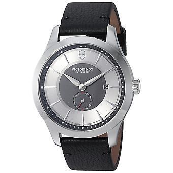 Swiss Army Victorinox Alliance Leather Mens Watch 241765