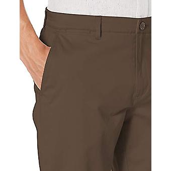 Brand -Goodthreads Men's Straight-Fit Washed Stretch Chino Pant, Brown...