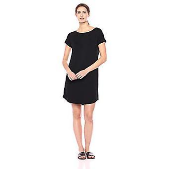 ブランド - 毎日の儀式の女性&アポス;sスーパーソフトテリードルマンスリーブボートネックドレス、ブラック、スモール