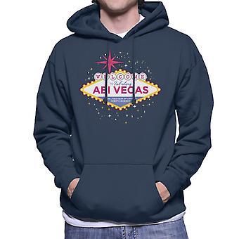 Abi Vegas Men's Hooded Sweatshirt