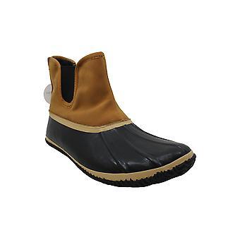 Style & Co. Heidie Duck Booties Black 7M