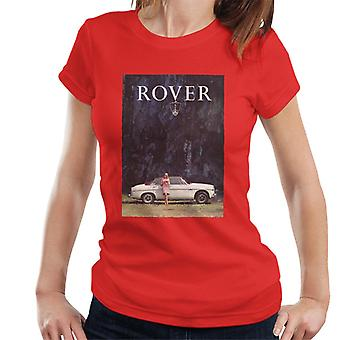 Rover Poster Design British Motor Heritage Women's T-Shirt