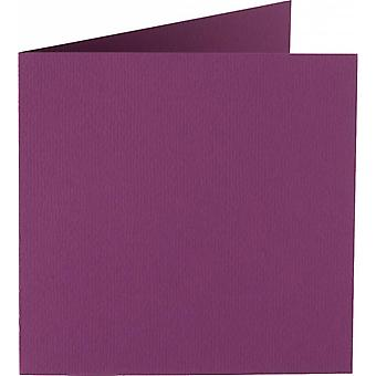 Papicolor 6X Double Card 132X132mm Aubergine