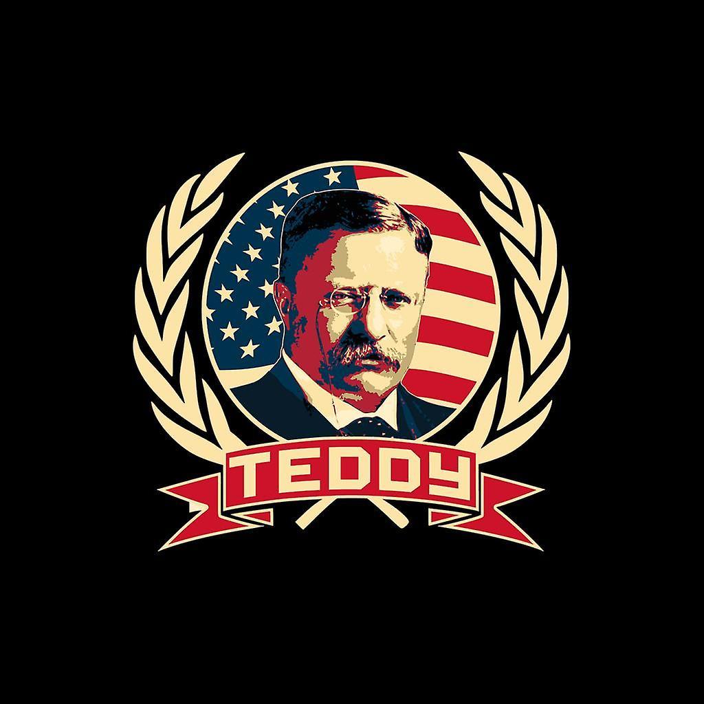 Propaganda Comunista Teddy Roosevelt Men's Varsity Jacket