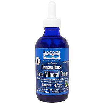 Trace Minerals Research, ConcenTrace, Trace Mineral Drops, Dropper Bottle, 4 fl