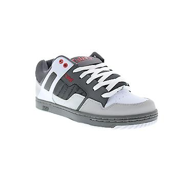 DVS Enduro 125 Mens Gray Nubuck Lace Up Skate Inspired Sneakers Shoes