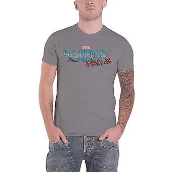 Guardians Of The Galaxy T Shirt distressed Colour Logo Official Marvel Comics