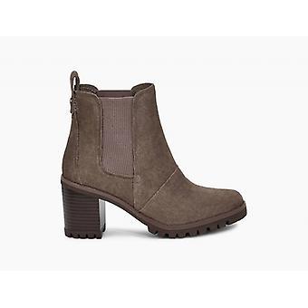 UGG Hazel Ladies Suede Ankle Boots Mole