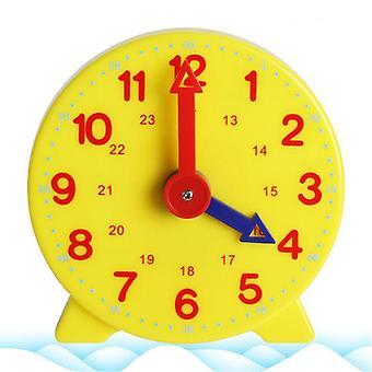 Hyvälaatuinen Montessori-opiskelija kellon ajan oppiminen, opettajan vaihdekello 4 tuumaa