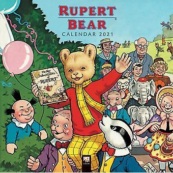 Rupert Bear Wall Calendar 2021 Art Calendar by Created by Flame Tree Studio